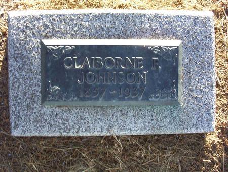 JOHNSON, CLAIBORNE F - Harrison County, Iowa | CLAIBORNE F JOHNSON