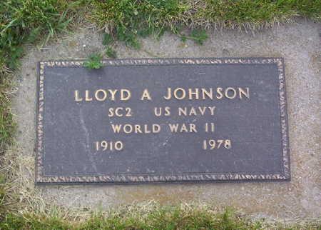 JOHNSON, LLOYD AUGUST - Harrison County, Iowa   LLOYD AUGUST JOHNSON