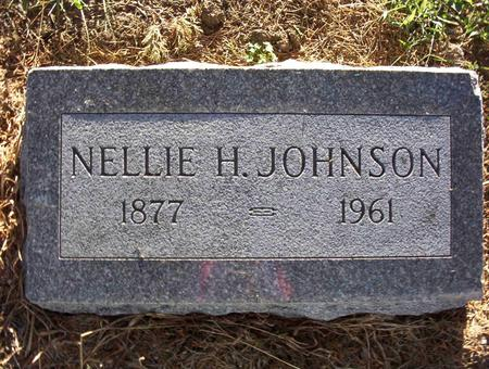 JOHNSON, NELLIE A - Harrison County, Iowa | NELLIE A JOHNSON