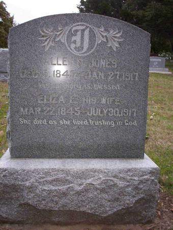 JONES, ELIZA E - Harrison County, Iowa | ELIZA E JONES