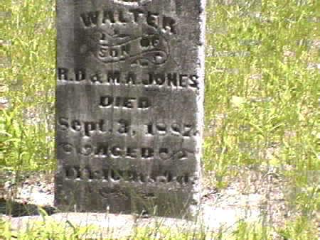 JONES, WALTER - Harrison County, Iowa | WALTER JONES