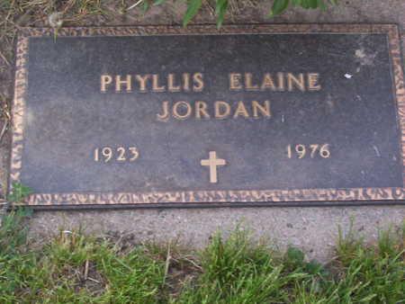 FETTER JORDAN, PHYLLIS ELAINE - Harrison County, Iowa | PHYLLIS ELAINE FETTER JORDAN