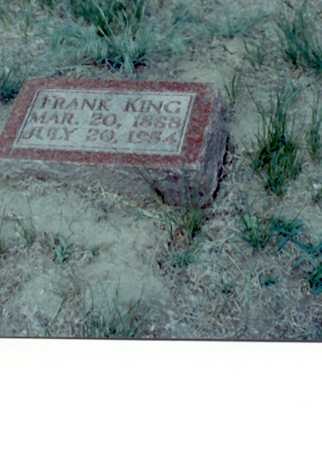 KING, FRANK - Harrison County, Iowa | FRANK KING