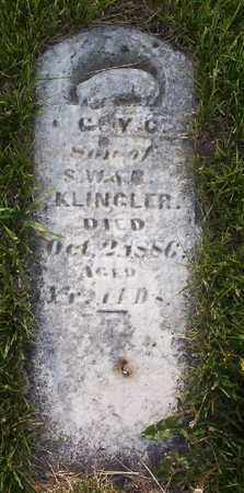 KLINGLER, COY OR GUY C. - Harrison County, Iowa | COY OR GUY C. KLINGLER