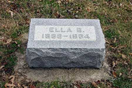 WITHROW LAHMAN, ELLA B. - Harrison County, Iowa | ELLA B. WITHROW LAHMAN