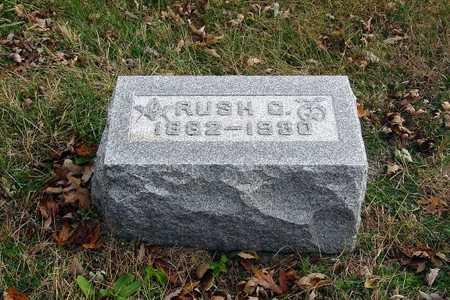 LAHMAN, RUSH C. - Harrison County, Iowa | RUSH C. LAHMAN