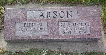 LARSON, CLIFFORD CARL - Harrison County, Iowa   CLIFFORD CARL LARSON