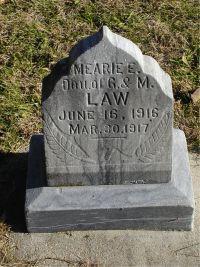 LAW, MEARIE - Harrison County, Iowa | MEARIE LAW