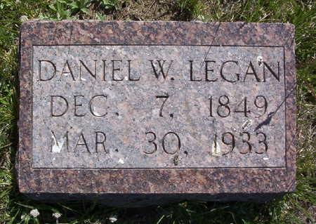 LEGAN, DANIEL W. - Harrison County, Iowa   DANIEL W. LEGAN