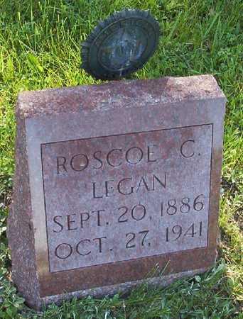 LEGAN, ROSCOE C. - Harrison County, Iowa   ROSCOE C. LEGAN