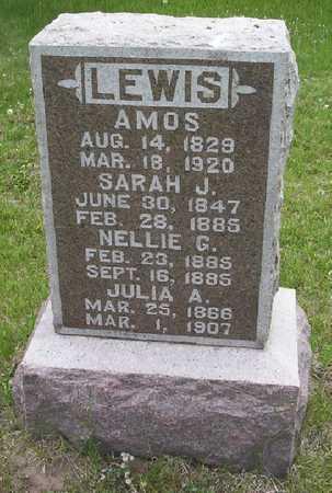 LEWIS, SARAH J. - Harrison County, Iowa | SARAH J. LEWIS