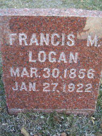 LOGAN, FRANCIS M. - Harrison County, Iowa | FRANCIS M. LOGAN