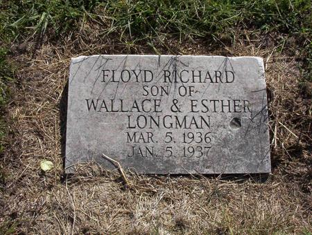LONGMAN, FLOYD RICHARD - Harrison County, Iowa | FLOYD RICHARD LONGMAN