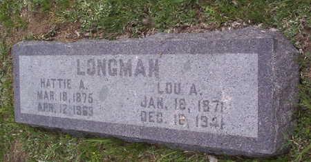 LONGMAN, LOUIS ALFRED - Harrison County, Iowa | LOUIS ALFRED LONGMAN