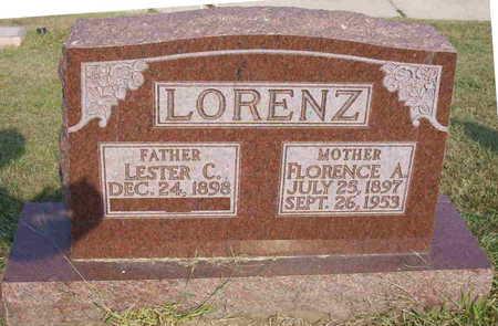 LORENZ, LESTER C. - Harrison County, Iowa   LESTER C. LORENZ