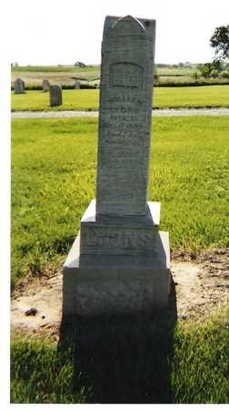LYONS, WILLIAM - Harrison County, Iowa | WILLIAM LYONS