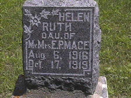 MACE, HELEN  RUTH - Harrison County, Iowa | HELEN  RUTH MACE
