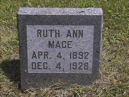 MACE, RUTH .ANN - Harrison County, Iowa | RUTH .ANN MACE