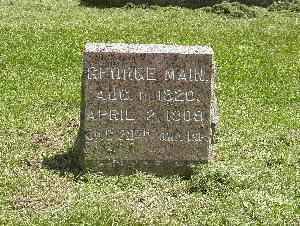 MAIN, GEORGE - Harrison County, Iowa   GEORGE MAIN