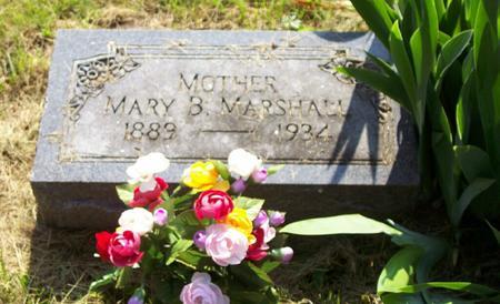 MARSHALL, MARY - Harrison County, Iowa   MARY MARSHALL