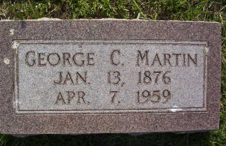 MARTIN, GEORGE CALVIN - Harrison County, Iowa   GEORGE CALVIN MARTIN