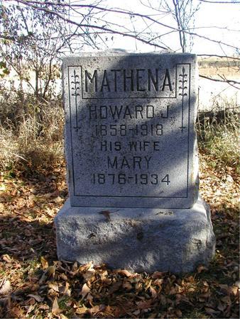 HIRST MATHENA, MARY - Harrison County, Iowa | MARY HIRST MATHENA