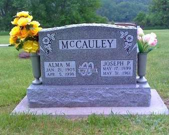 MCCAULEY, ALMA - Harrison County, Iowa | ALMA MCCAULEY