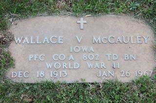 MCCAULEY, WALLACE V - Harrison County, Iowa | WALLACE V MCCAULEY