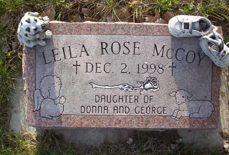 MCCOY, LEILA ROSE - Harrison County, Iowa   LEILA ROSE MCCOY