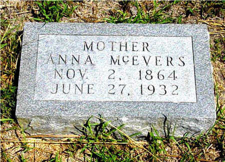 MCEVERS, ANNA - Harrison County, Iowa | ANNA MCEVERS