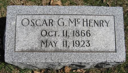 MCHENRY, OSCAR G. - Harrison County, Iowa | OSCAR G. MCHENRY