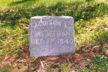 MCINTOSH, ADDISON L - Harrison County, Iowa   ADDISON L MCINTOSH