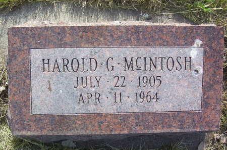 MCINTOSH, HAROLD GUY - Harrison County, Iowa   HAROLD GUY MCINTOSH