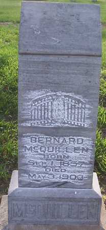 MCQUILLEN, BERNARD - Harrison County, Iowa   BERNARD MCQUILLEN