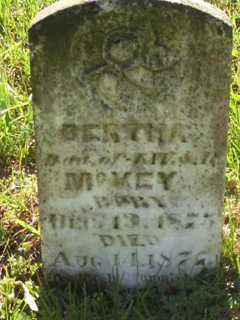 MCVEY, BERTHA - Harrison County, Iowa | BERTHA MCVEY