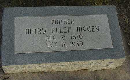 MCVEY, MARY ELLEN - Harrison County, Iowa | MARY ELLEN MCVEY