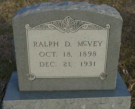 MCVEY, RALPH D. - Harrison County, Iowa | RALPH D. MCVEY