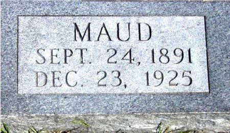 MCWILLIAMS, MAUD - Harrison County, Iowa | MAUD MCWILLIAMS