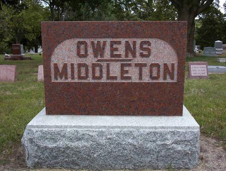 OWENS MIDDLETON, LELA MAY - Harrison County, Iowa | LELA MAY OWENS MIDDLETON