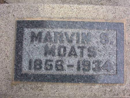 MOATS, MARVIN SIMON - Harrison County, Iowa   MARVIN SIMON MOATS