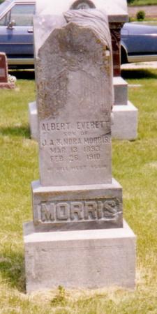 MORRIS, ALBERT EVERETT - Harrison County, Iowa   ALBERT EVERETT MORRIS