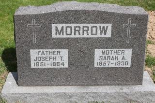 MORROW, SARAH A - Harrison County, Iowa | SARAH A MORROW