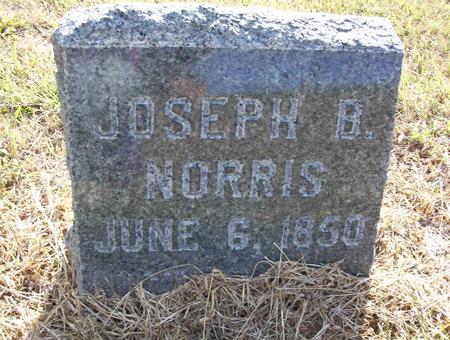 NORRIS, JOSEPH B - Harrison County, Iowa | JOSEPH B NORRIS