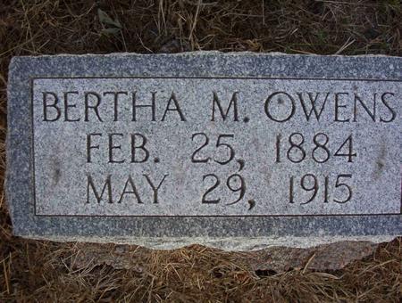 OWENS, BERTHA ETHYL - Harrison County, Iowa | BERTHA ETHYL OWENS
