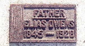 OWENS, ELIAS (1845) - Harrison County, Iowa   ELIAS (1845) OWENS