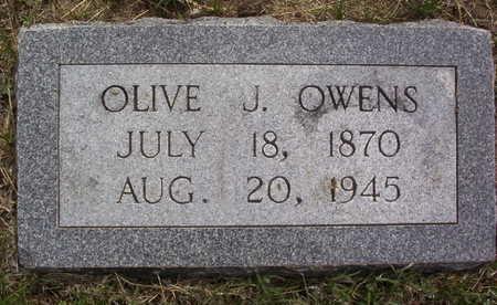 OWENS, OLIVE JOSEPHINE - Harrison County, Iowa   OLIVE JOSEPHINE OWENS