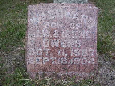 OWENS, WILLIAM EDWARD - Harrison County, Iowa   WILLIAM EDWARD OWENS