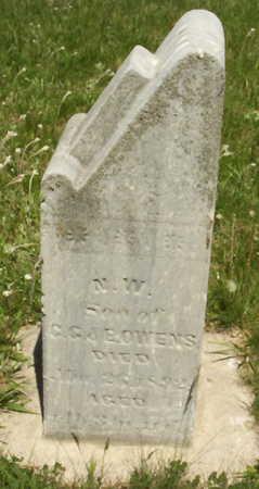 OWENS, WILLIAM N. - Harrison County, Iowa | WILLIAM N. OWENS
