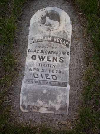 OWENS, WILLIAM EDGAR - Harrison County, Iowa | WILLIAM EDGAR OWENS