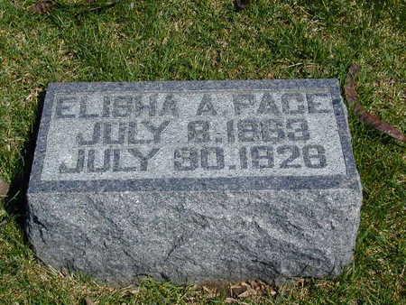 PACE, ELISHA ALVA - Harrison County, Iowa | ELISHA ALVA PACE